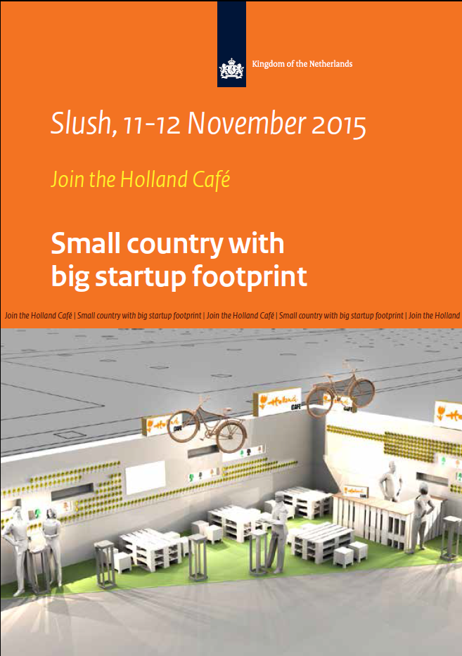You-Get will be present on Slush, find us in the Holland Café